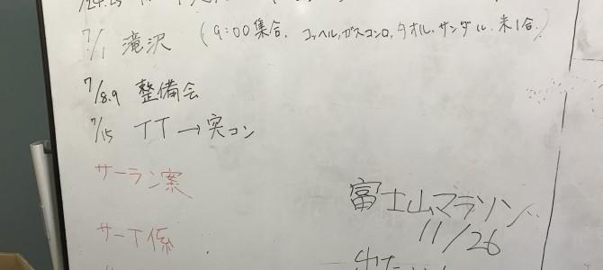 6月22日 部会報告(浜松)