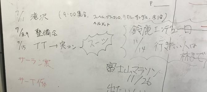 6月29日 部会報告(浜松)