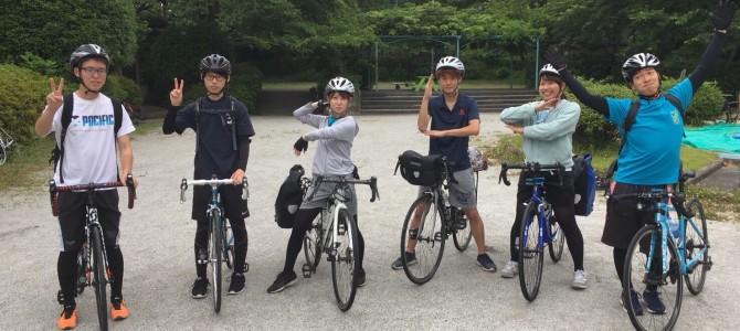 新歓サイクリング2班