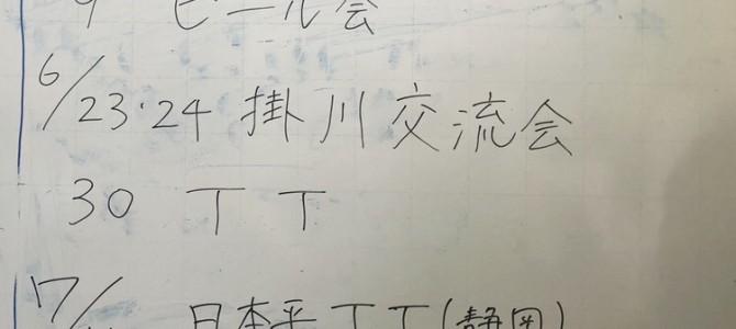 5/31 部会報告(浜松)